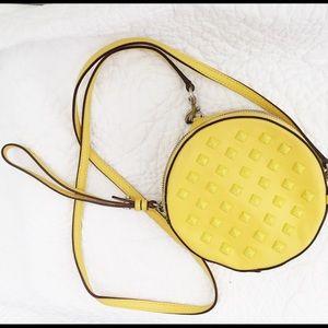 Rebecca Minkoff Round Studded Clutch/Crossbody Bag